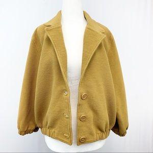 American Apparel Oversized Cotton Corduroy Jacket